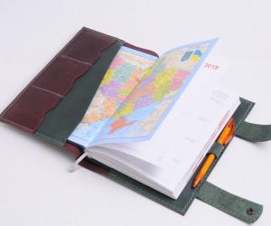 Обкладинка для щоденника Шкіра: Крейзі хорс