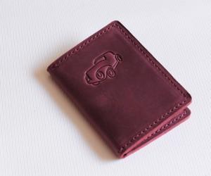 Обкладинка на права формату ID-картки Шкіра: Крейзі хорс