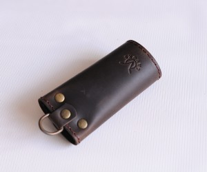 ключница шесть карабинов Кожа: крейзи хорс