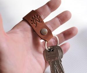 Брелок для ключей Кожа: кайзер
