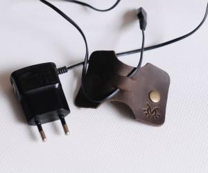холдер для наушников Кожа: крейзи хорс