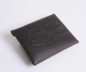 лого клієнта на наших виробах Шкіра: кайзер