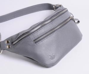 "Поясна сумка ""Дізі"" Шкіра: флотар"