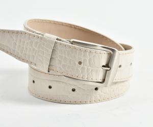 Ремінь шириною 35 мм Шкіра: крокодил