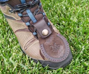 Накладка на взуття для стендової стрільби Шкіра: Ремінна шкіра