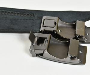 Ремінь шириною 35 мм, ремінна шкіра, пряжка автомат Шкіра: Ремінна шкіра